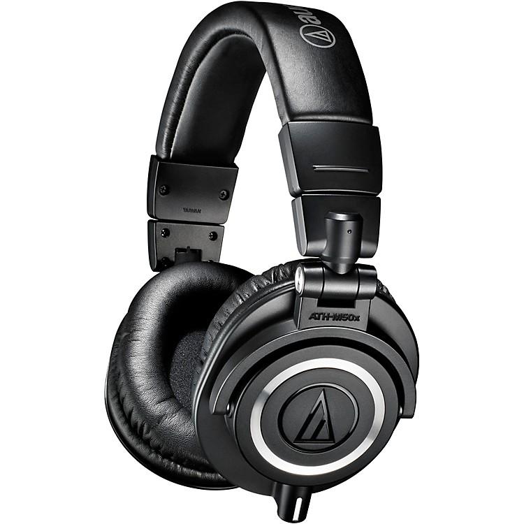Audio-TechnicaATH-M50x Closed-Back Studio Monitoring HeadphonesBlack