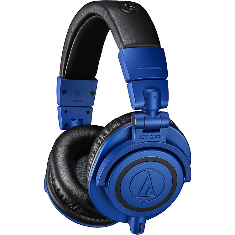 Audio-Technica ATH-M50xBB Black/Blue Limited Edition Headphone Black/Blue