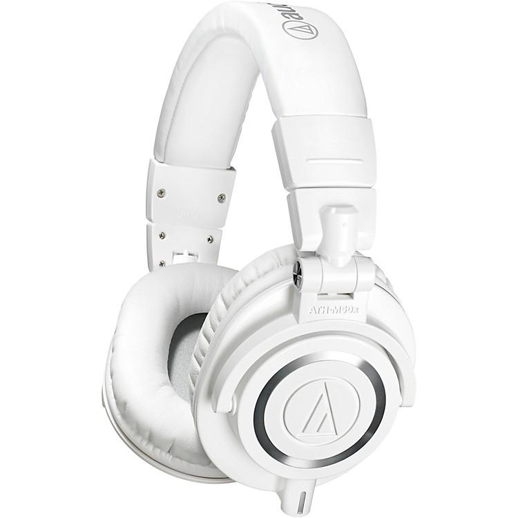 Audio-TechnicaATH-M50xWH Closed-Back Professional Studio Monitor HeadphonesWhite