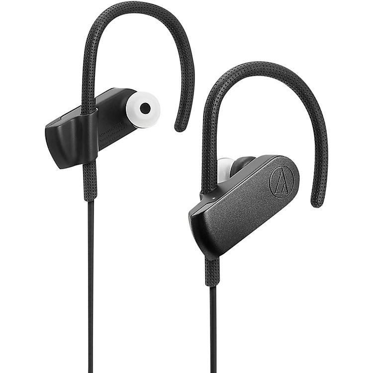 Audio-TechnicaATH-SPORT70BTBK Sonicsport IPX5 In-Ear Bluetooth Headphone in Black