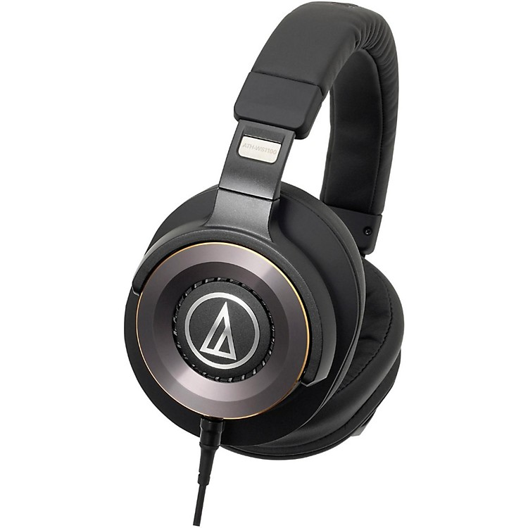 Audio-TechnicaATH-WS1100iS Solid Bass Over-Ear Headphones with In-line Mic