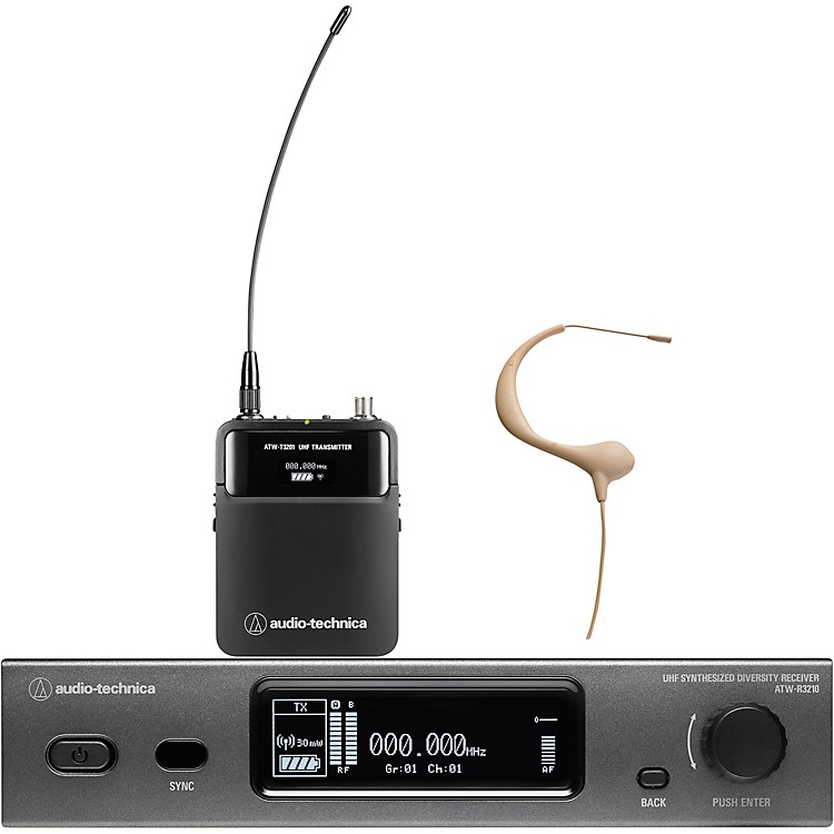 Audio-TechnicaATW-3211/893-TH 3000 Series Frequency-agile True Diversity UHF Wireless SystemsBand EE1