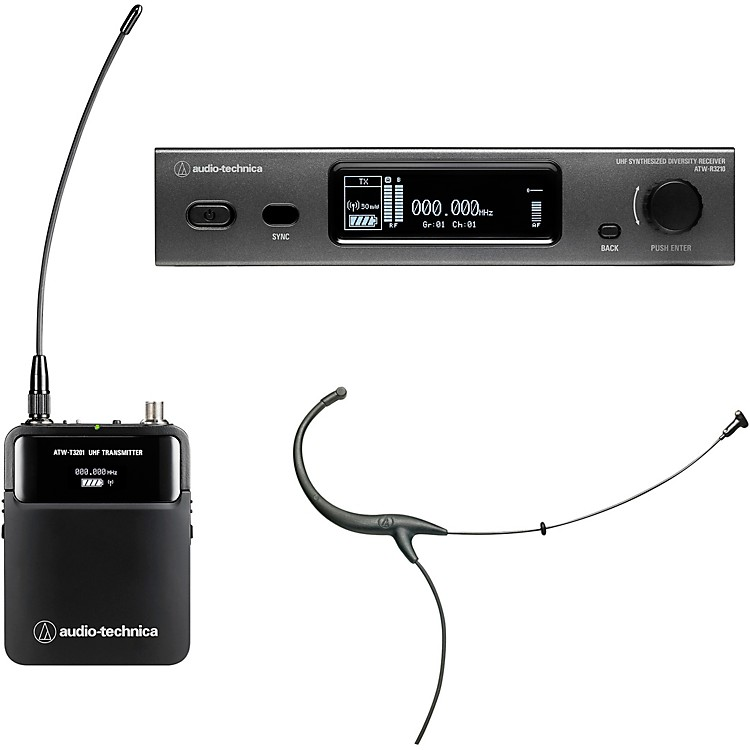 Audio-TechnicaATW-3211/894 3000 Series Frequency-agile True Diversity UHF Wireless SystemsBand EE1