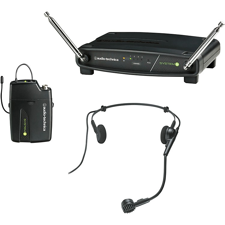 Audio-Technica ATW-901a/H System 9 Headworn Wireless System 169.505 - 171.905 MHz