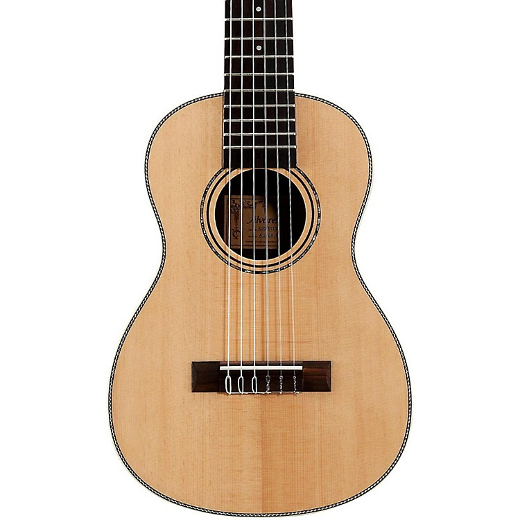 AlvarezAU70B 6-String Travel Acoustic GuitarNatural