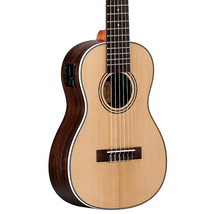 alvarez au70be 6 string travel acoustic electric guitar music123. Black Bedroom Furniture Sets. Home Design Ideas