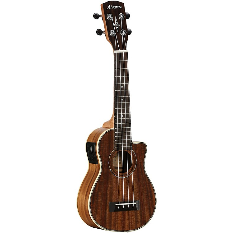 AlvarezAU90SCE Artist Series Soprano Acoustic-Electric UkuleleSatin Natural