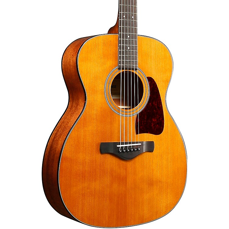 IbanezAV4CE Artwood Vintage Grand Concert Acoustic-Electric GuitarNatural