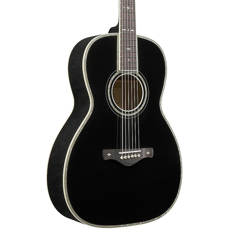 Ibanez AV5CBK Grand Concert Acoustic Guitar Black