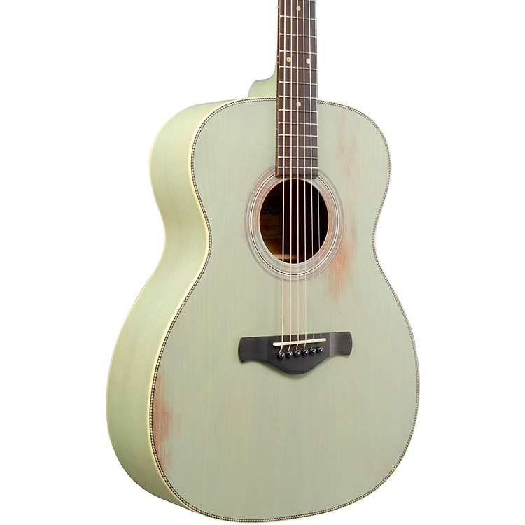 IbanezAVC11MH Artwood Vintage Thermo-Aged Grand Concert Acoustic GuitarSurf Green