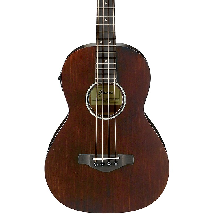 Ibanez AVNB1E Artwood Vintage Parlor Acoustic-Electric Bass Open Pore Natural