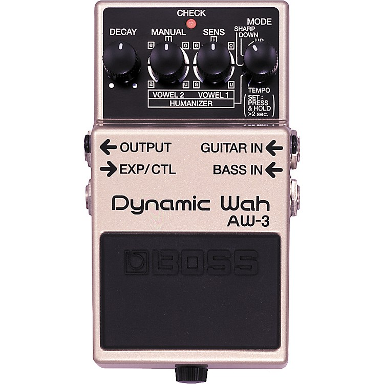 BossAW-3 Dynamic Wah Guitar Effects Pedal888365703015