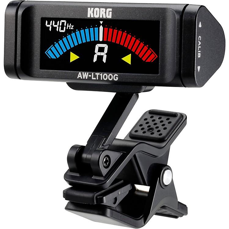 KorgAW-LT100G Clip-On Guitar TunerBlack