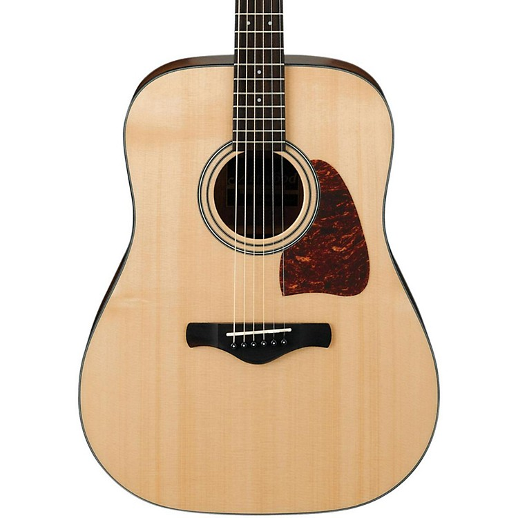 IbanezAW400 Artwood Solid Top Dreadnought Acoustic GuitarNatural