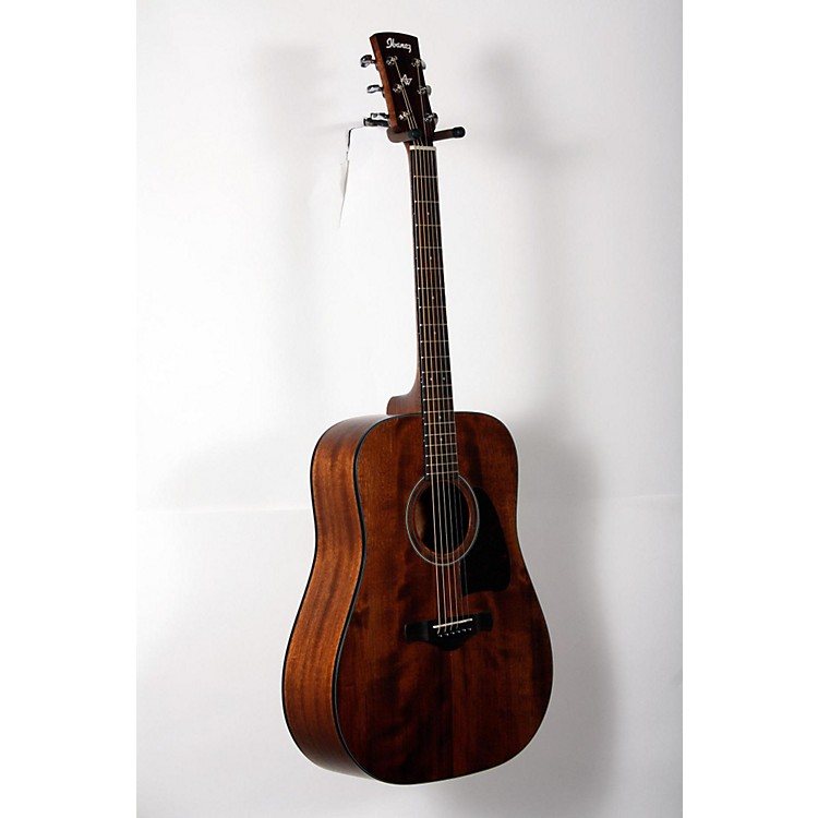 Ibanez AW54OPN Artwood Solid Top Dreadnought Acoustic Guitar Open Pore Natural 888365917412