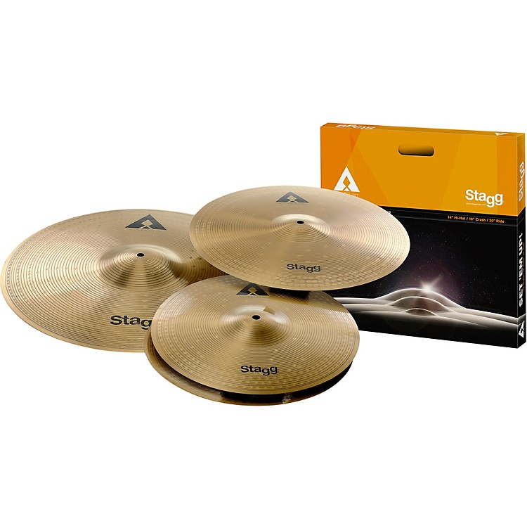 StaggAX Series Deluxe Cymbal Set