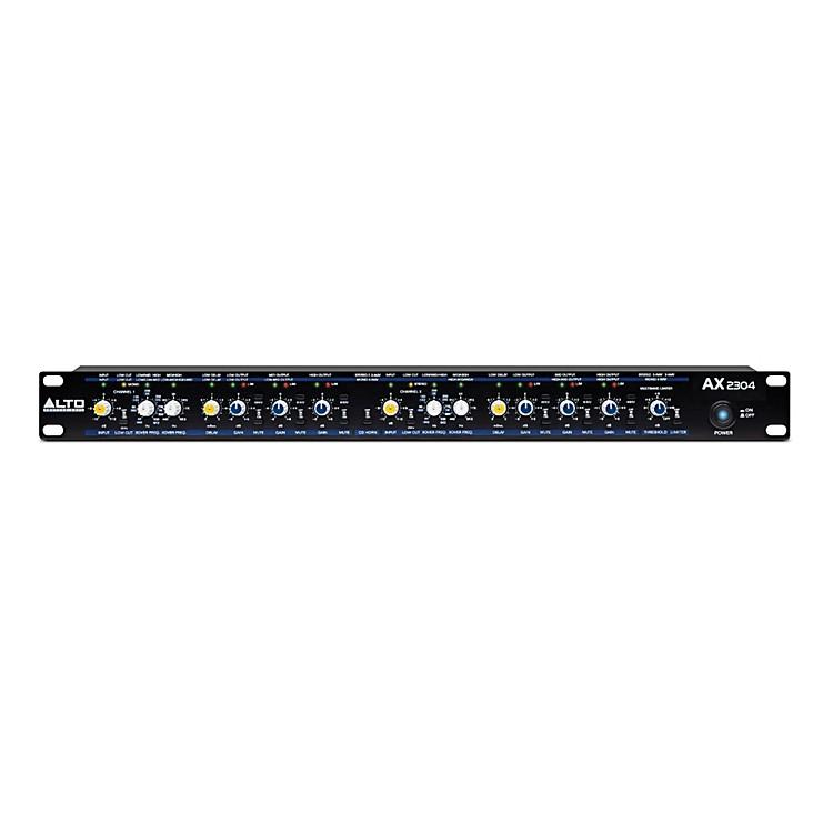AltoAX2304 Professional High-Precision Stereo 2-Way / 3-Way / Mono 4-Way Crossover