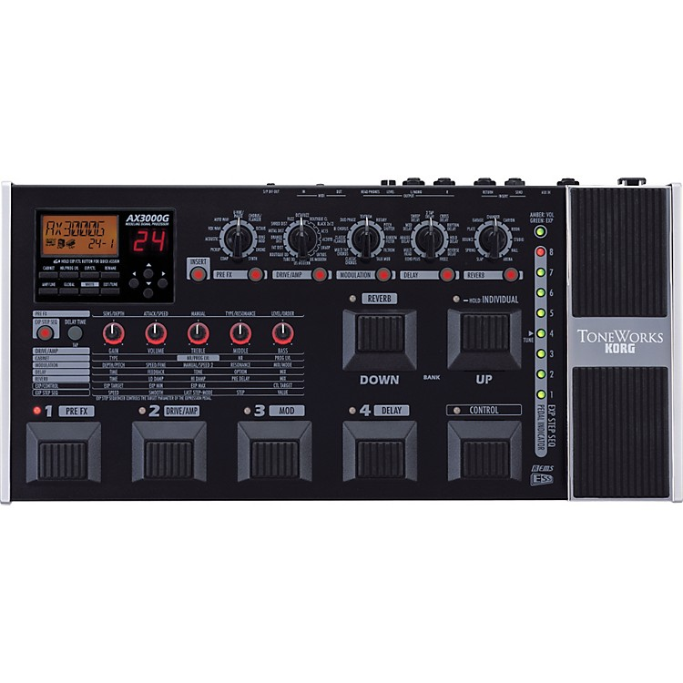 toneworks ax3000g guitar multi effects pedal music123. Black Bedroom Furniture Sets. Home Design Ideas