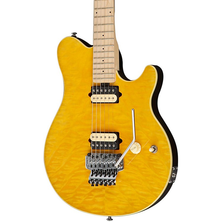 Sterling by Music ManAX40D Electric Guitar DiMarzio Pickups Double Locking Trem