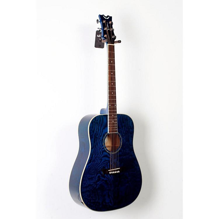 DeanAXS Dreadnought Quilt Acoustic GuitarTransparent Blue888365805665