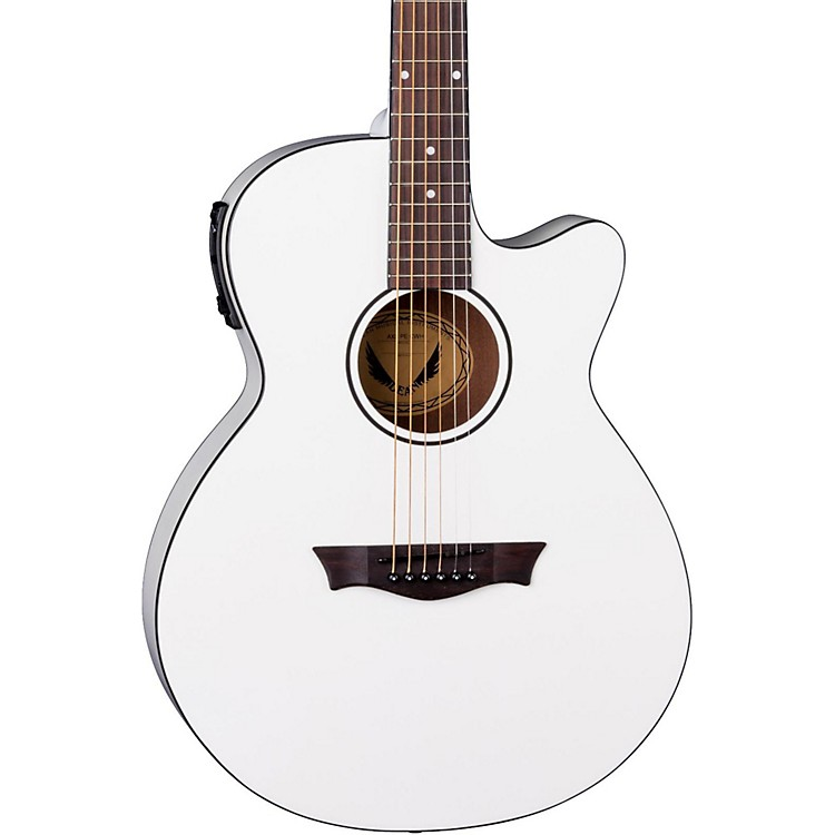 Dean AXS Performer Acoustic-Electric Guitar Classic White