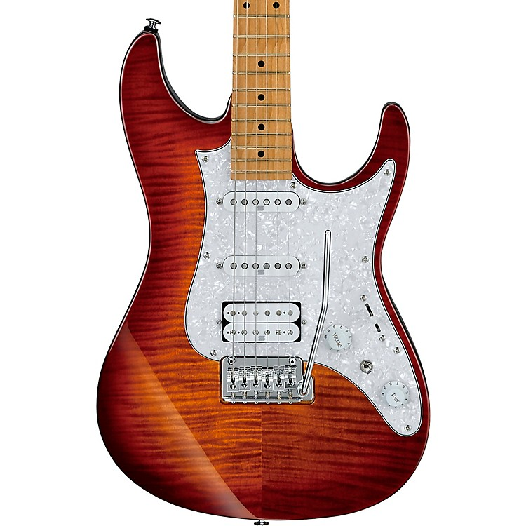 IbanezAZ224F AZ Premium Series Electric GuitarBrown Topaz Burst