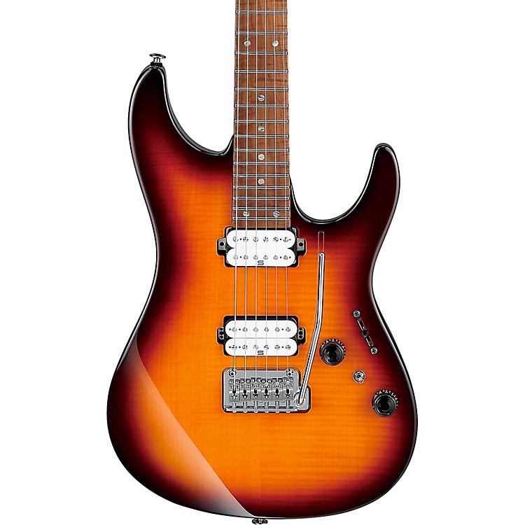 IbanezAZ2402FF AZ Prestige Limited Edition Electric GuitarRegal Brown Burst
