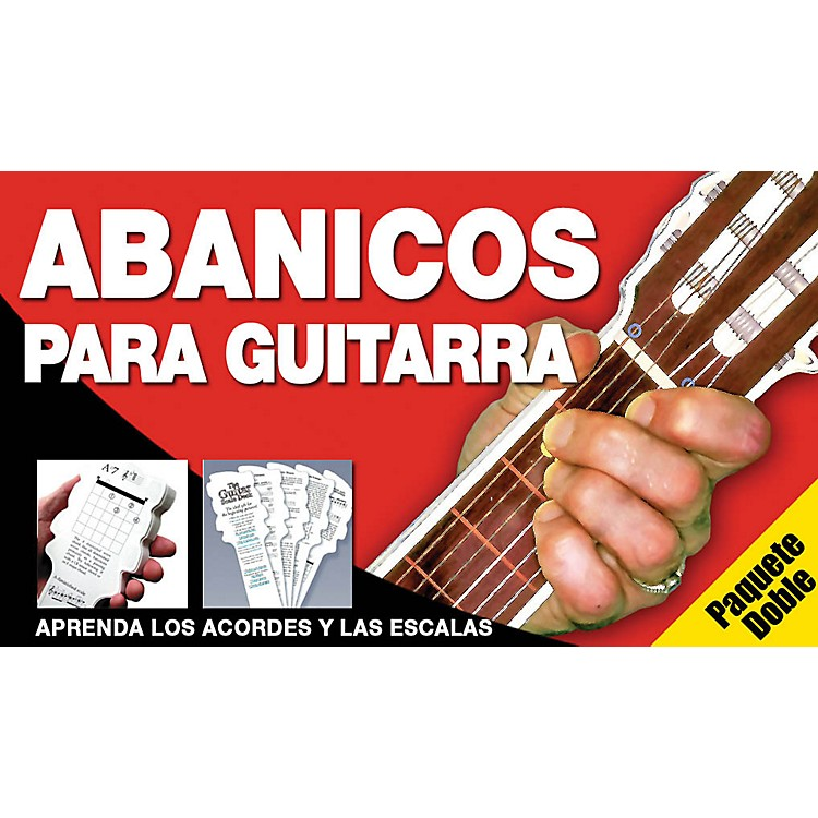Music Sales Abanicos Para Guitarra - Paquete Doble Music Sales America Series Written by Ed Lozano