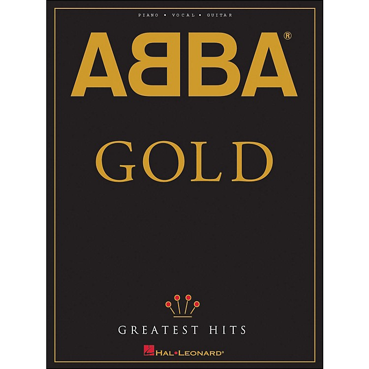Hal LeonardAbba Gold Greatest Hits arranged for piano, vocal, and guitar (P/V/G)
