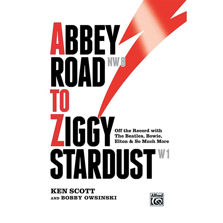 AlfredAbbey Road to Ziggy Stardust Off-the-record The Beatles,Bowie,Elton and more Hardcover Book