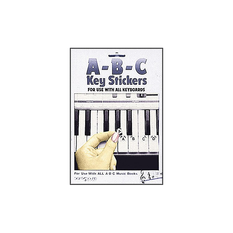 Hal Leonard Abc Keyboard Stickers