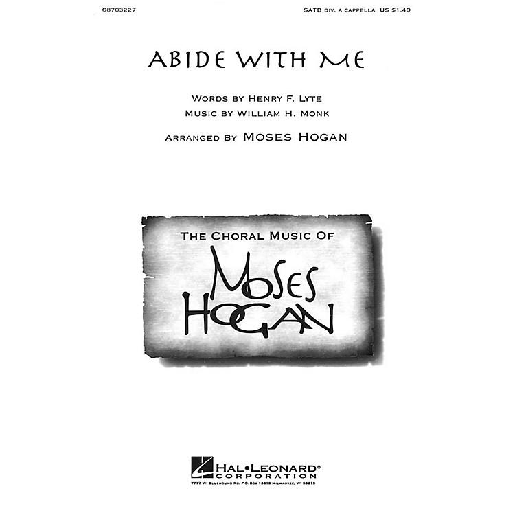 Hal LeonardAbide with Me SATB DV A Cappella arranged by Moses Hogan