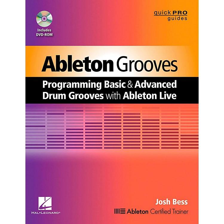 Hal LeonardAbleton Grooves Book/DVD-ROM