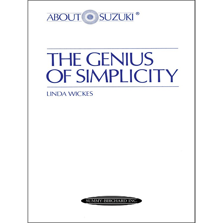 Alfred About Suzuki: The Genius of Simplicity (Book)
