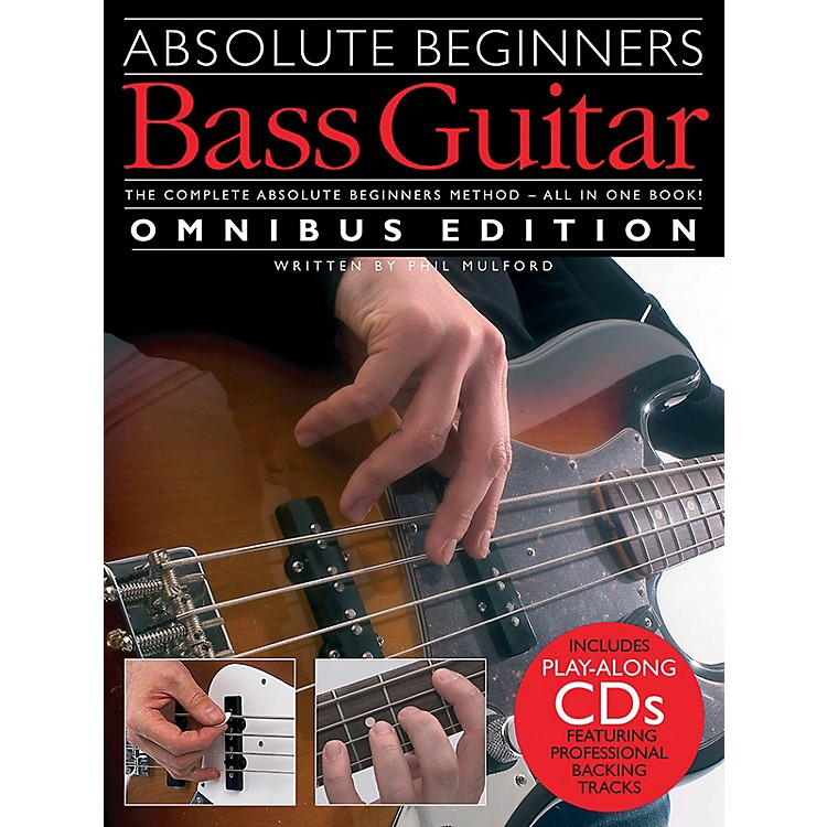Music SalesAbsolute Beginners - Bass Guitar - Omnibus Edition Music Sales America Softcover Audio Online by Various
