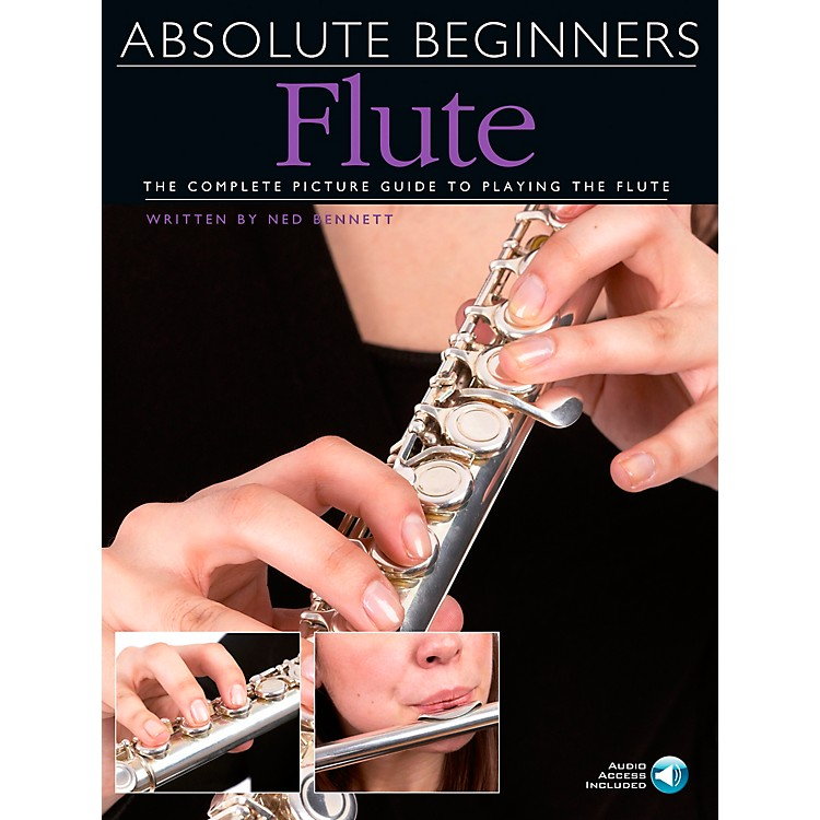 Music SalesAbsolute Beginners - Flute Book/CD