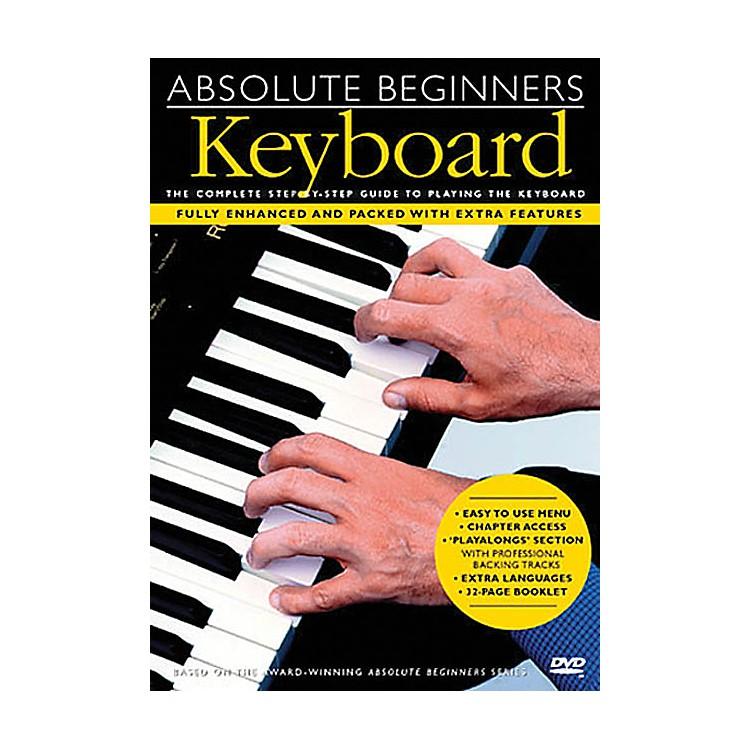 Music SalesAbsolute Beginners - Keyboard Music Sales America Series DVD Written by Various