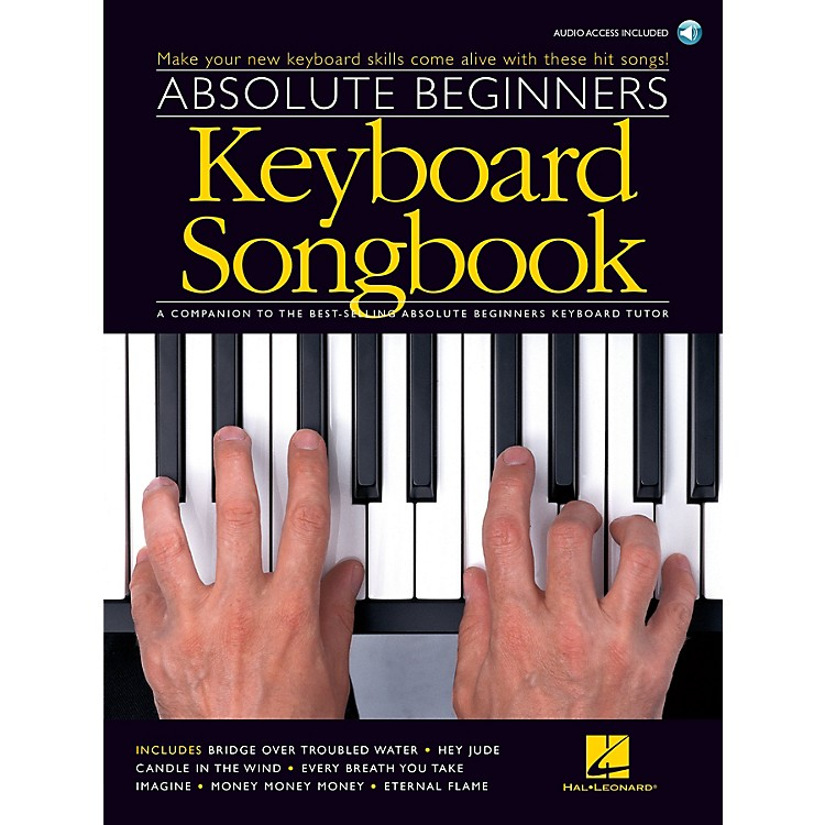 Music SalesAbsolute Beginners - Keyboard Songbook Music Sales America Series Softcover with CD Composed by Various