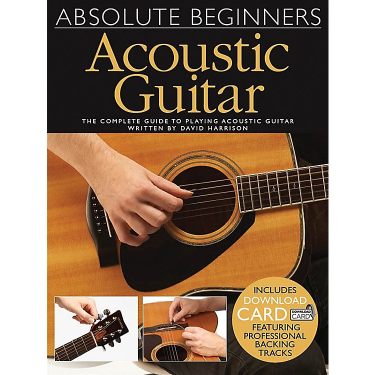 Wise PublicationsAbsolute Beginners Acoustic Guitar Music Sales America Series Softcover Audio Online by David Harrison