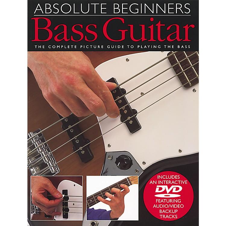 Music SalesAbsolute Beginners Bass Guitar Book and DVD