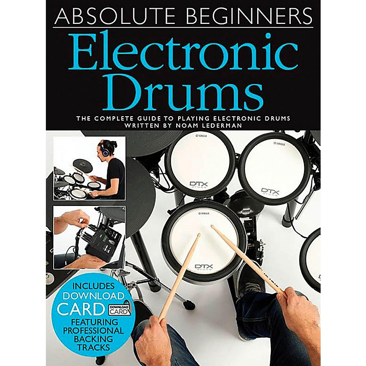 Music SalesAbsolute Beginners Electronic Drums (Book/CD)