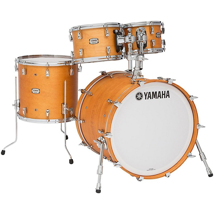 Yamaha Absolute Hybrid Maple 4-Piece Shell Pack Vintage Natural