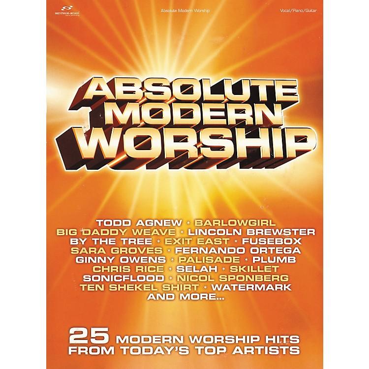 Brentwood-BensonAbsolute Modern Worship Piano, Vocal, Guitar Songbook