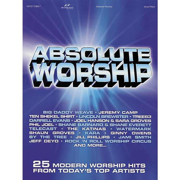 Hal LeonardAbsolute Worship Songbook for Piano, Vocal, Guitar Songbook