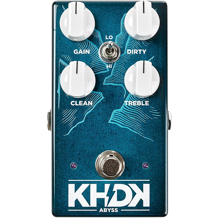 KHDKAbyss Bass Overdrive Effects Pedal