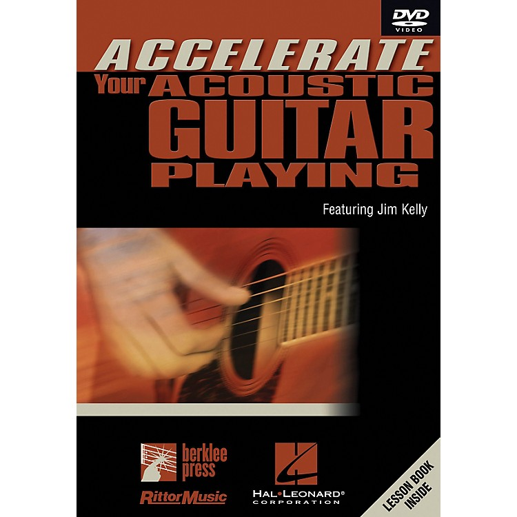Hal LeonardAccelerate Your Acoustic Guitar Playing DVD