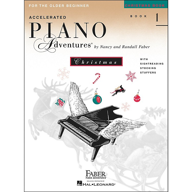Faber Piano AdventuresAccelerated Piano Adventures Christmas Book 1 for The older Beginner - Faber Piano