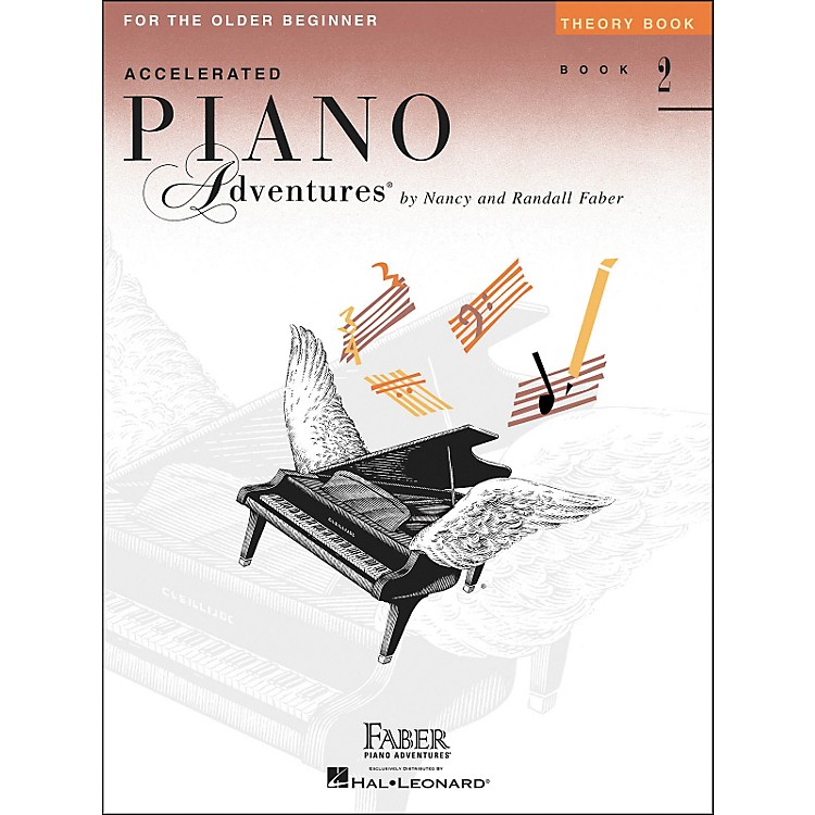 Faber Piano AdventuresAccelerated Piano Adventures Theory Book for The Older Beginner Book 2 - Faber Piano