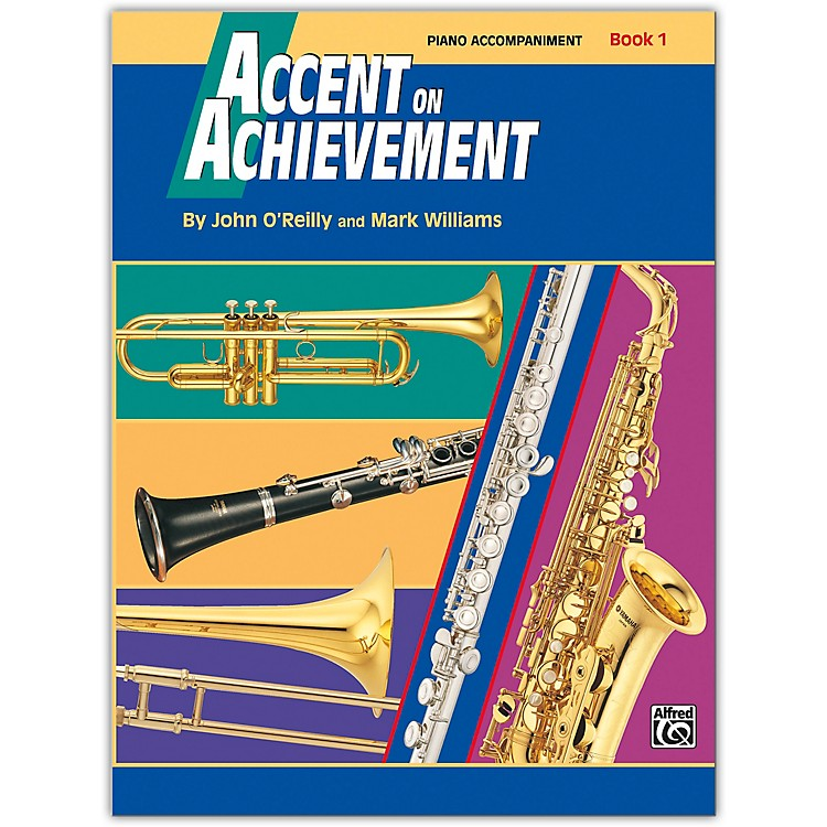 AlfredAccent on Achievement Book 1 Piano Acc. with CD