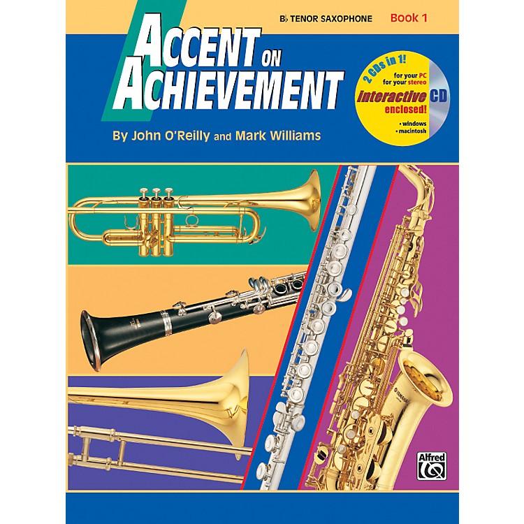 AlfredAccent on Achievement Book 1 Tenor Sax Book & CD